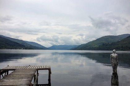 Mirror Man Loch Earn