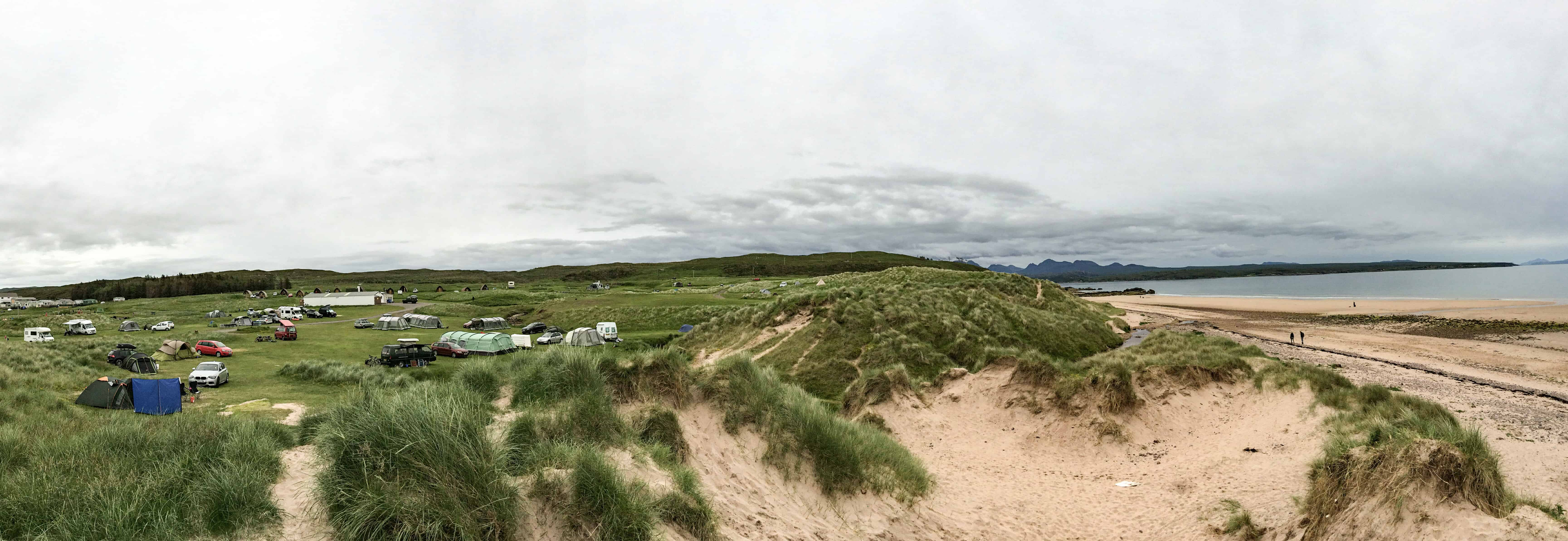Camping in Scotland 6