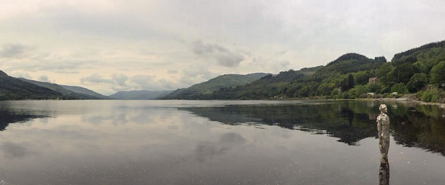Loch Earn Mirror Man