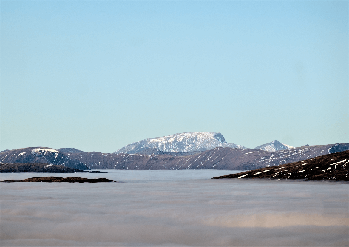 Ben Nevis Cloud inversion