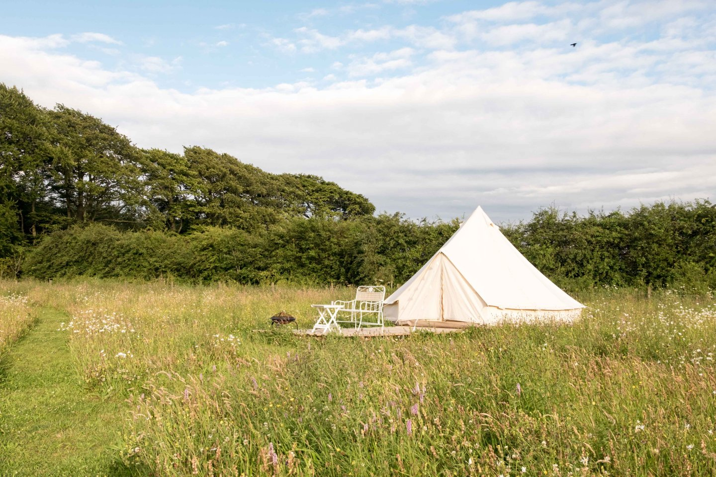 Glamping on the farm at Greenhillock, Angus