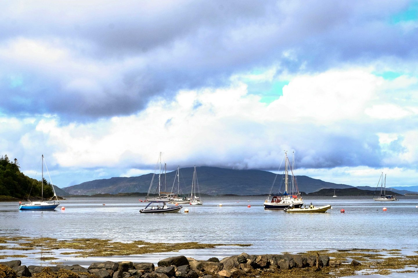 View to Jura from Crinan
