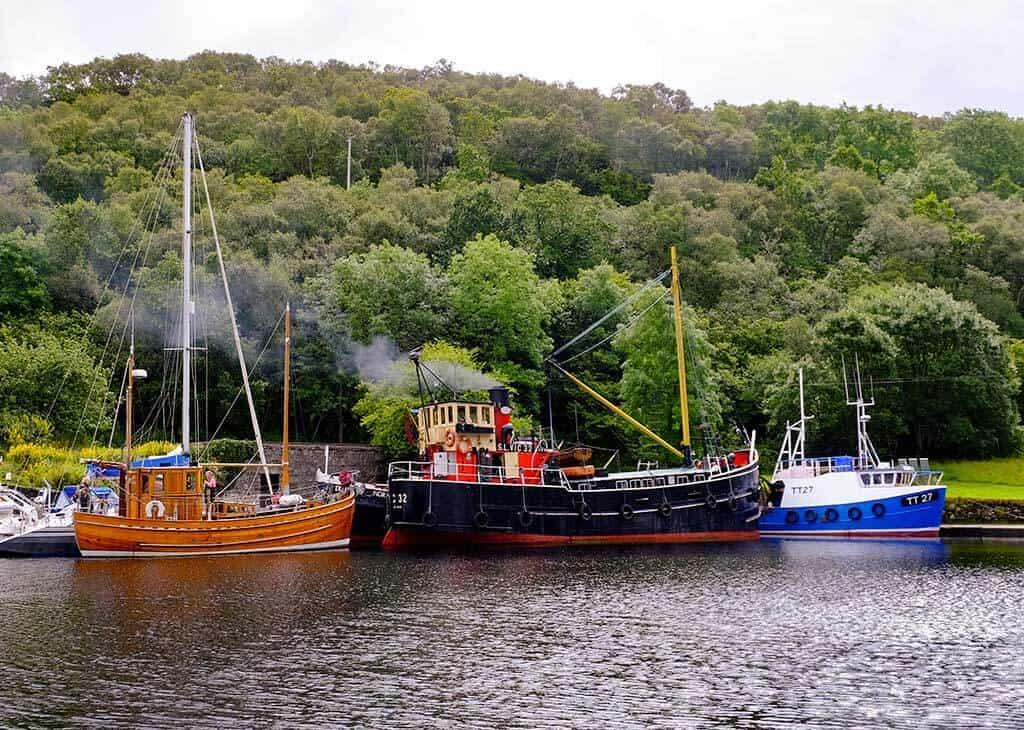 Clyde Puffer Crinan Canal
