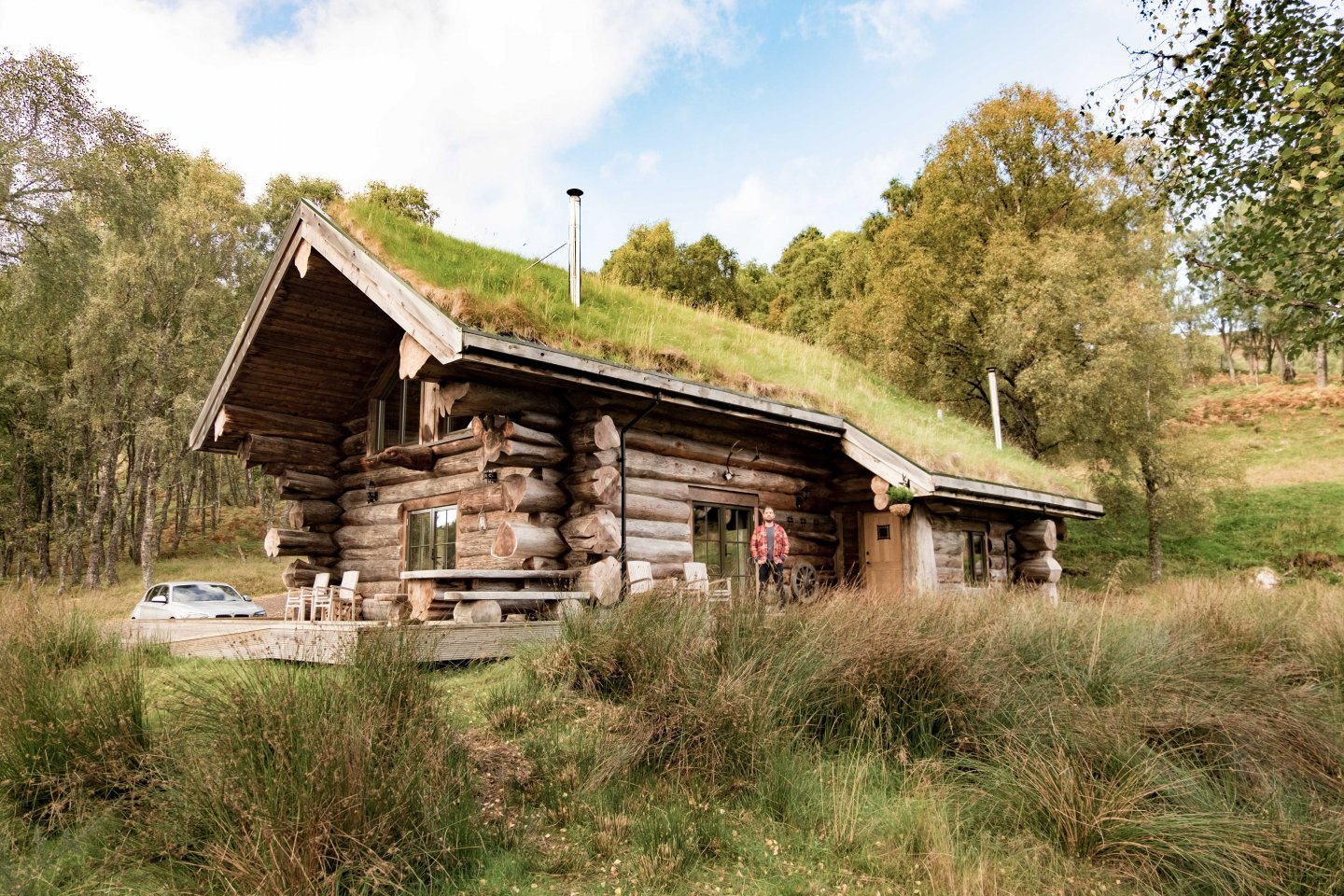 Luxury Log Cabins Scotland Eagle Brae
