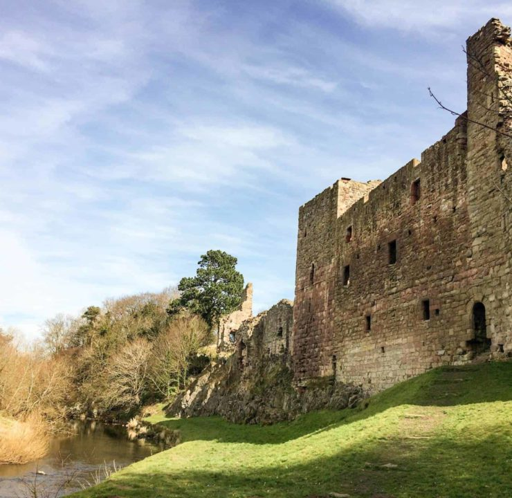 Discover the hidden Hailes Castle, East Lothian