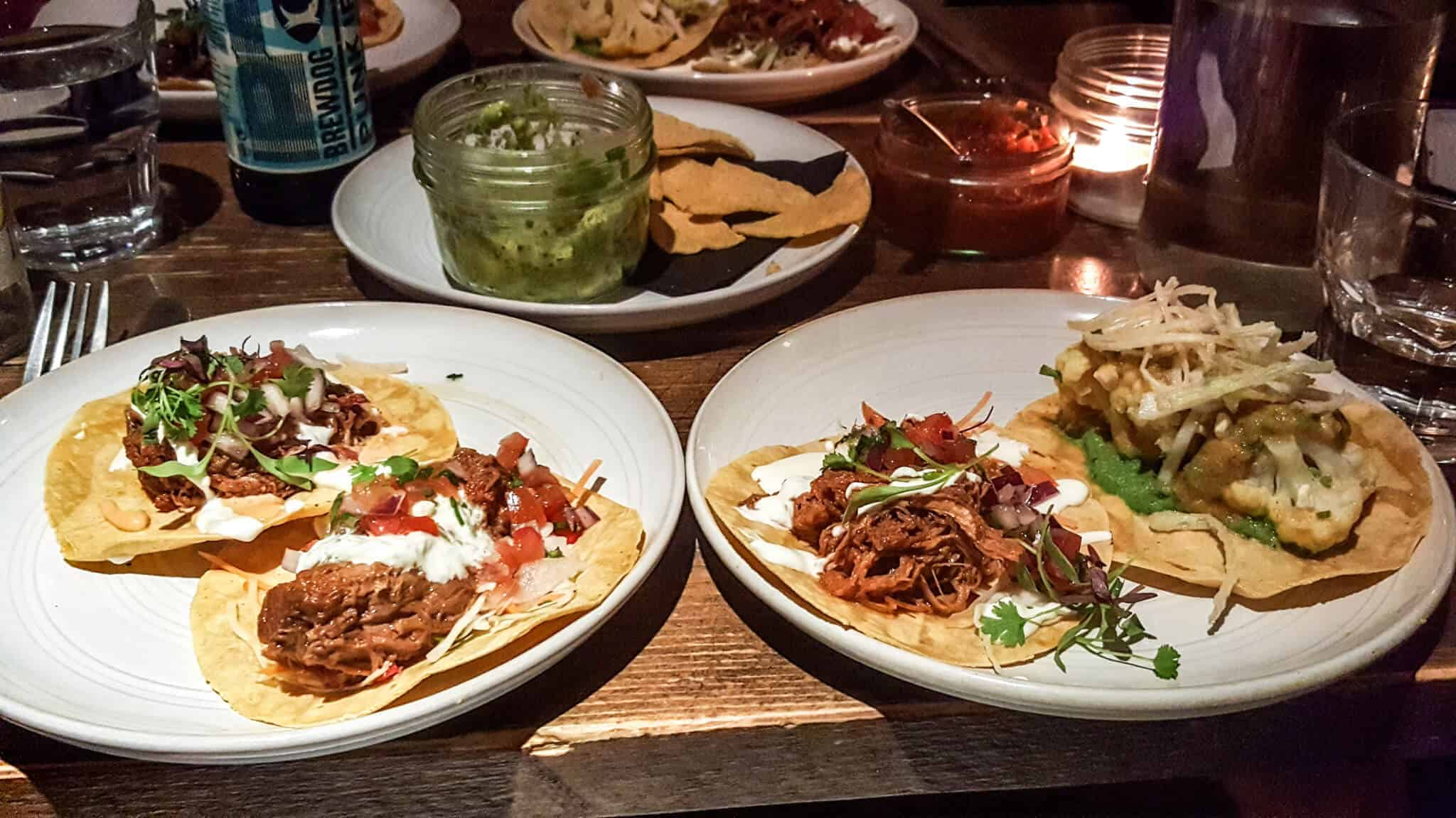 Tacos & Tequila – Mexican food in Edinburgh