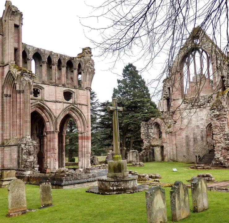 Dryburgh Abbey & The River Tweed