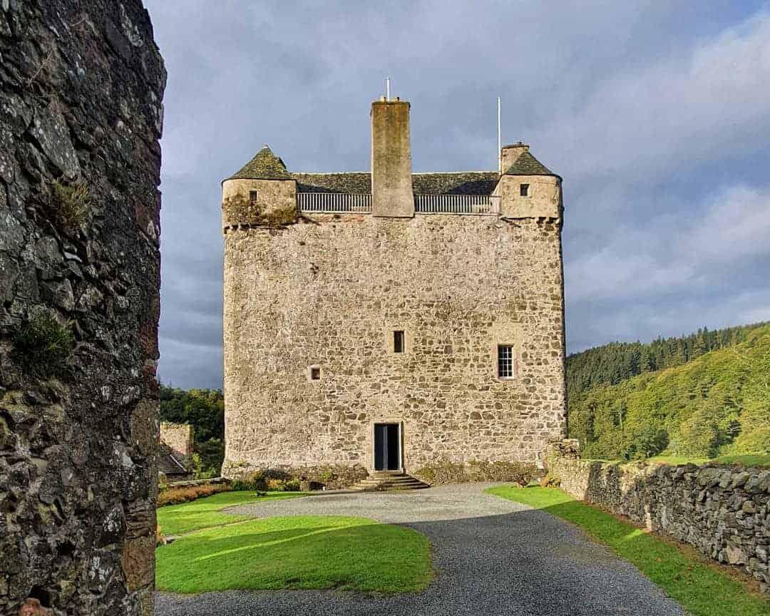 Queen Mary's Chamber, Neidpath Castle