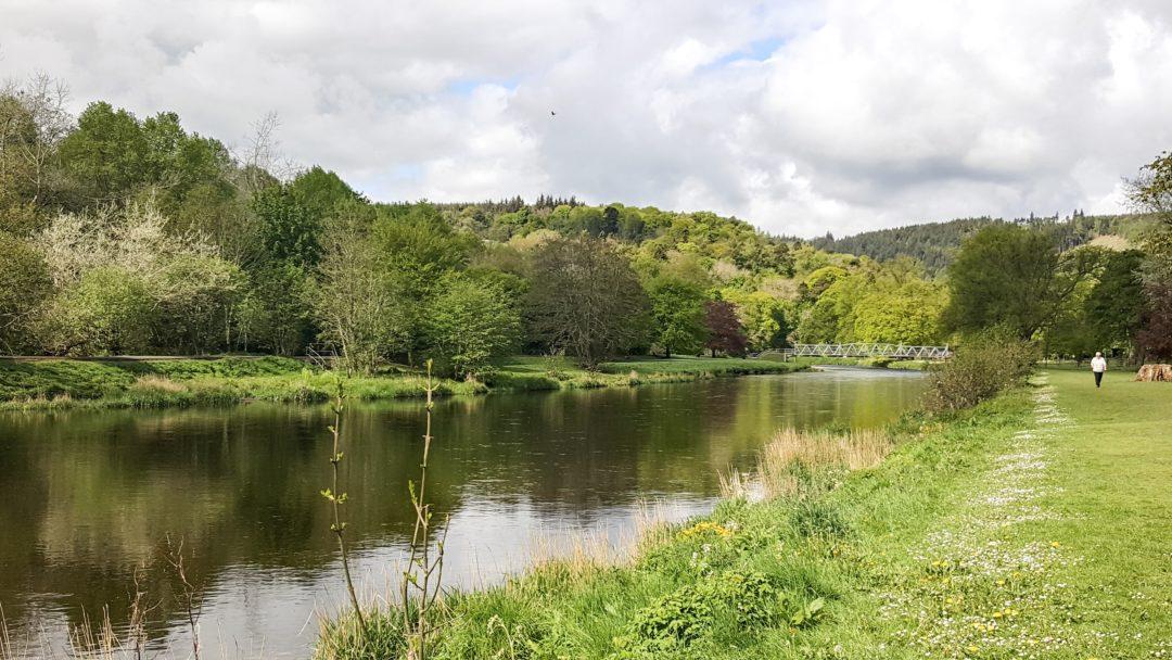 River Tweed Peebles