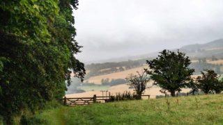 Scottish Borders Campsite