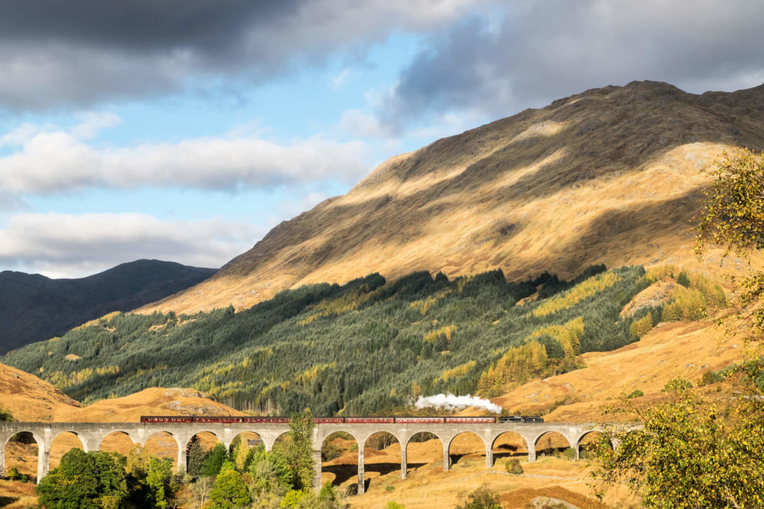 Scotland road trips - the Jacobite Express
