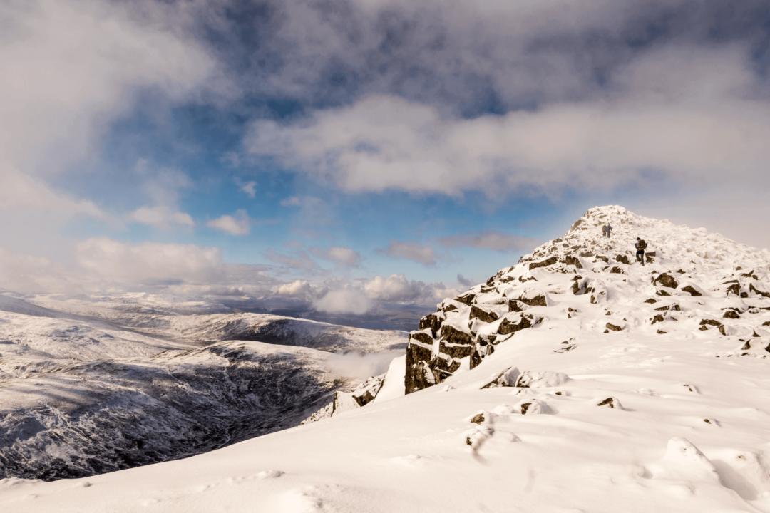 Scotland mountains Hillwalking in Scotland