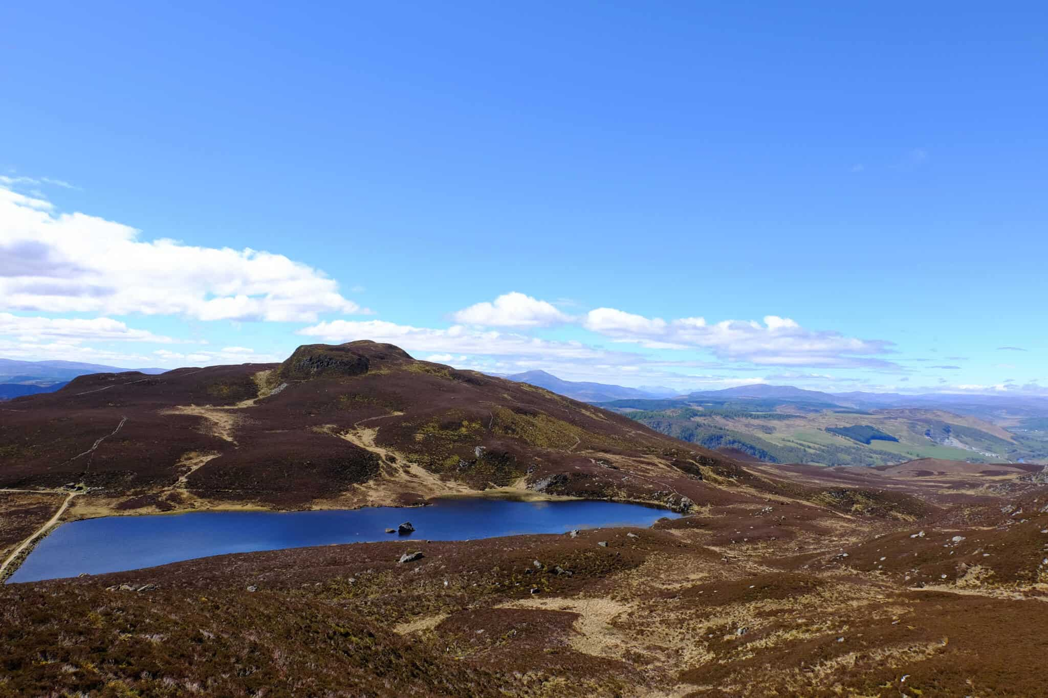 How to climb Ben Vrackie, Pitlochry