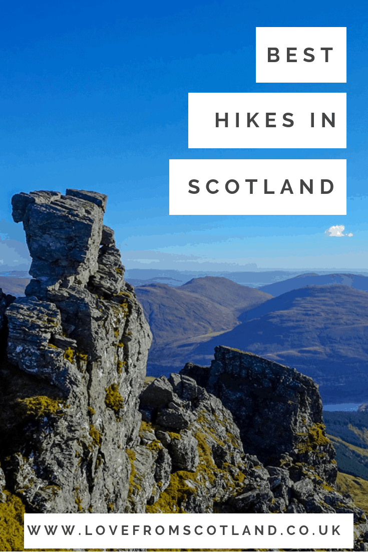 Are you thinking of starting hill walking in Scotland? Before rushing off to bag a Munro, here are my recommended hills for beginners in Scotland.