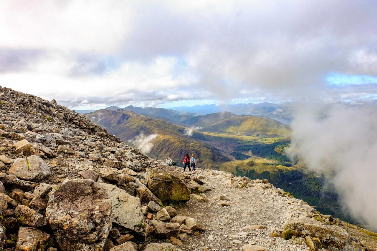 Scotland mountains Ben Nevis - Day Walks in Scotland