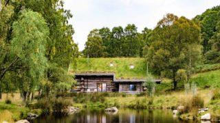 log cabins in scotland eagle brae