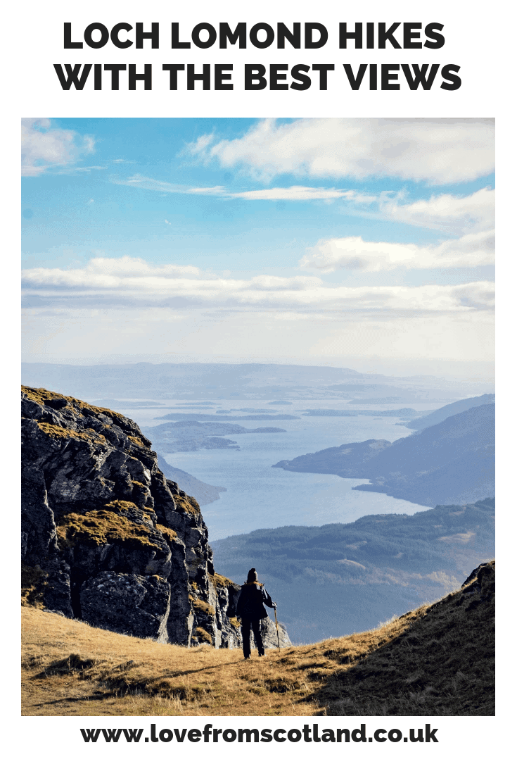 Loch Lomond\'s bonnie banks are spectacular, but to see its true beauty you need to get up high. Here are 5 Loch Lomond Walks with the best views.