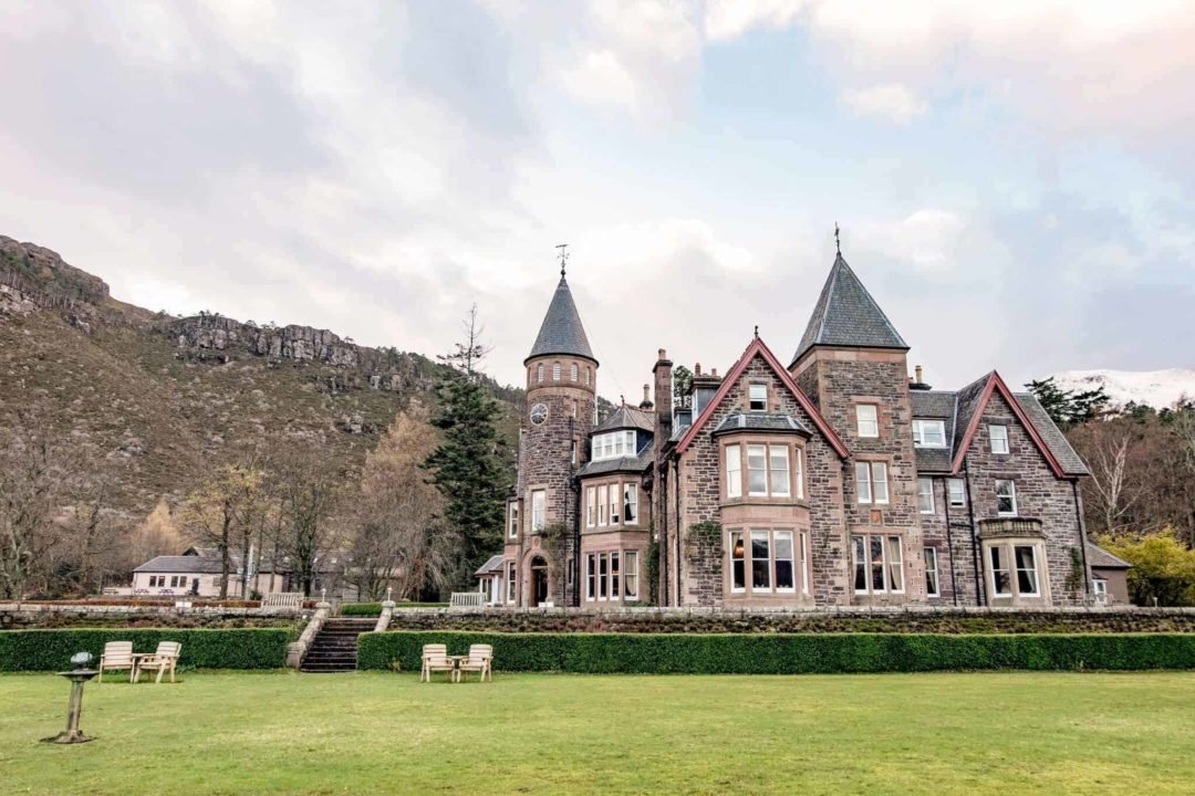 Where to stay on the North Coast 500 - luxury hotels in Scotland romantic