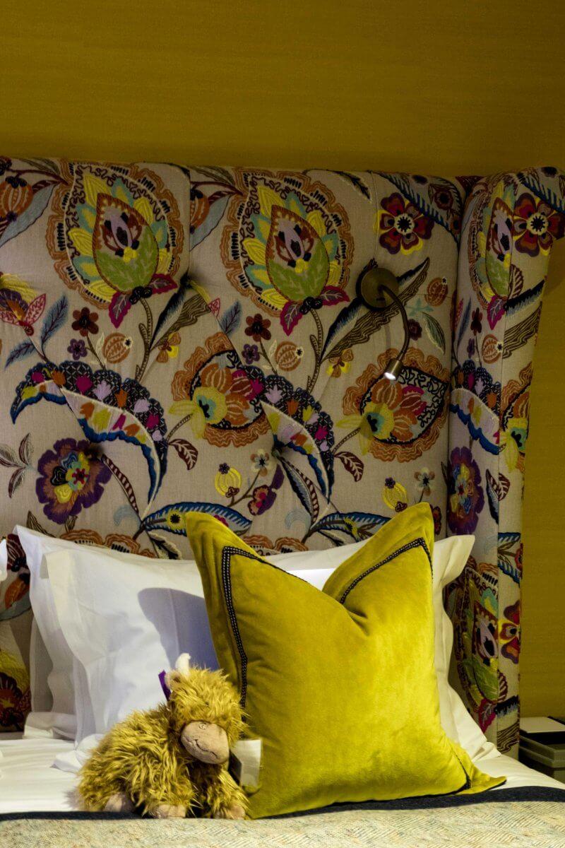 Bedroom Torridon Hotel Scotland