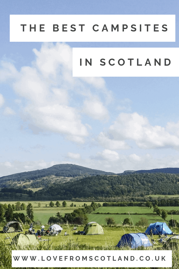 From wild camping in Scotland, glamping in wildflower meadow, or are looking for a campsite near Edinburgh, here are my favourite campsites in Scotland.