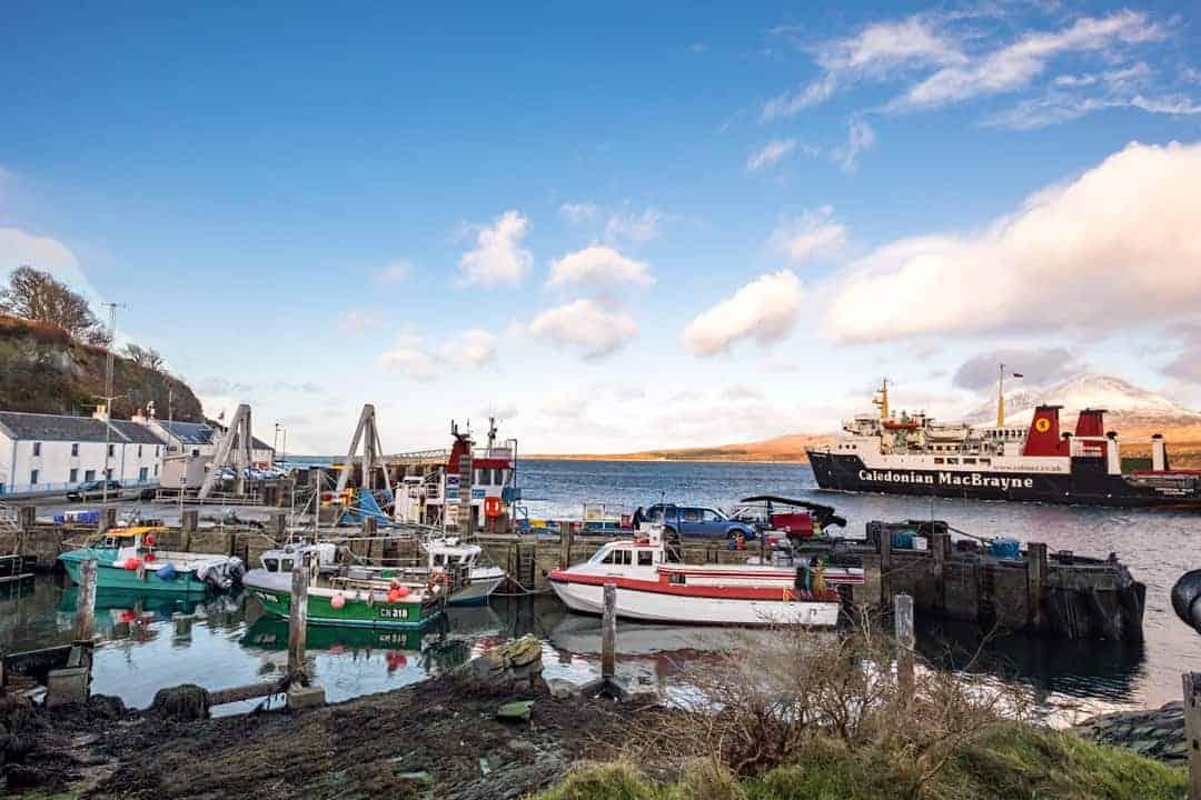 Port Askaig Isle of Islay