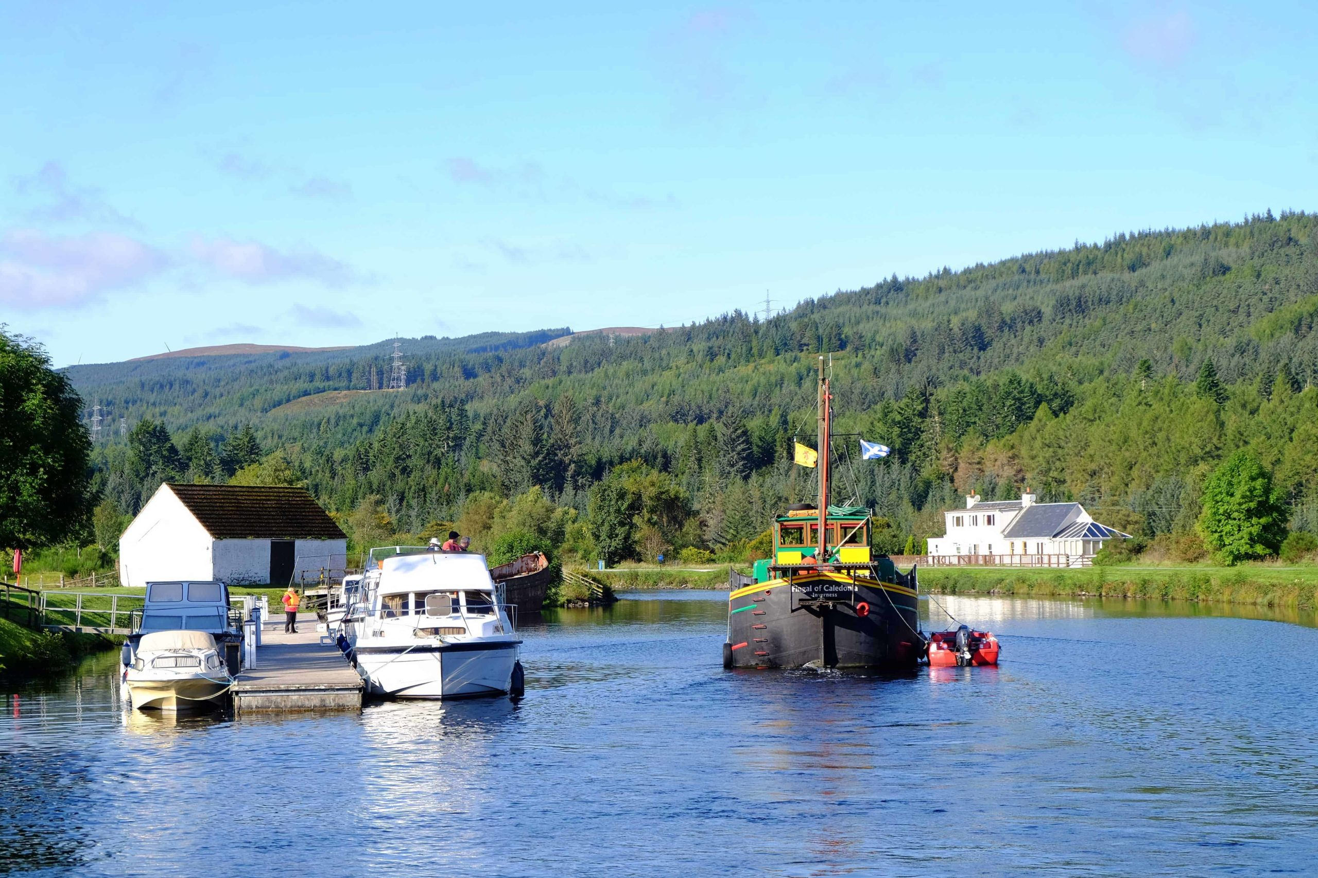 Caledonian Canal boat hire