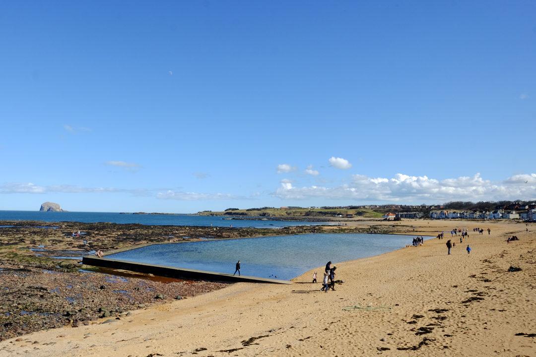 Edinburgh beach - north berwick