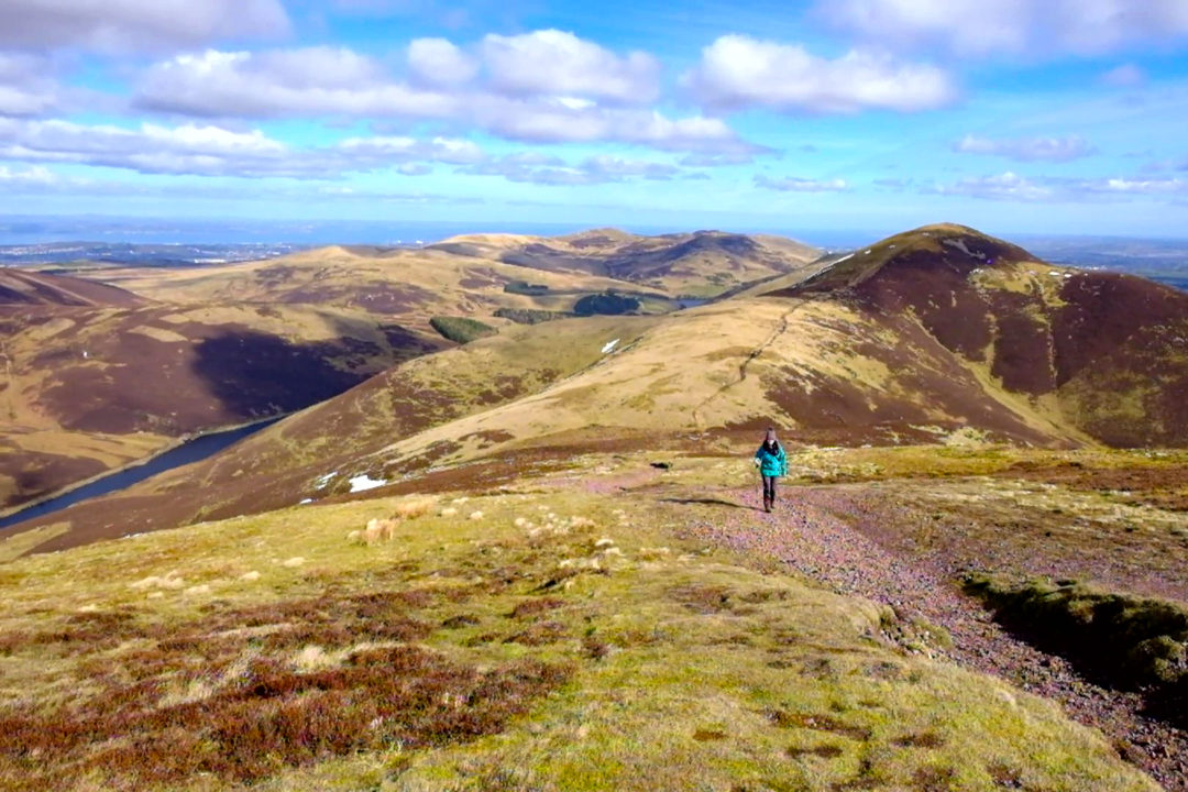 Pentland Hills Edinburgh Day Walks in Scotland