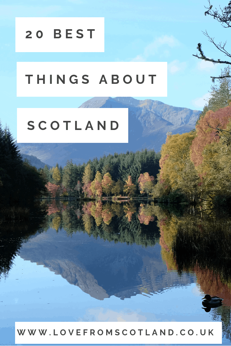 Moving to Scotland? Yes please! Scotland is the best small country in the world to live in and this is why - 20 reasons why I love living in Scotland.
