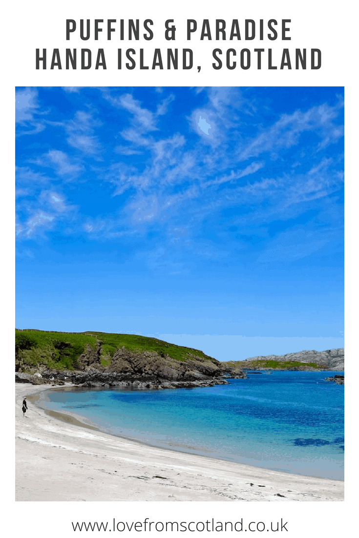 Just off the remote north-west coast of Scotland lies Handa, one of Scotland's most beautiful islands and a nationally important wildlife reserve.