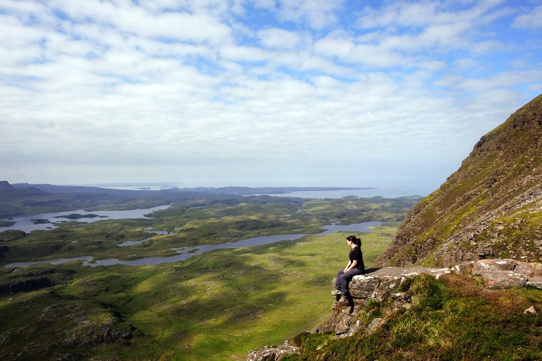 Suilven Mountain Scotland North Coast 500
