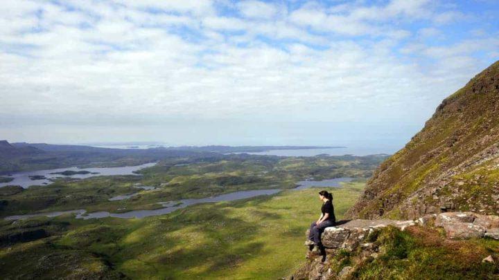 Suilven Mountain Scotland