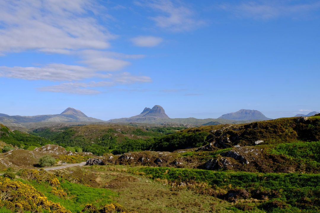 Suilven Mountain Scotland