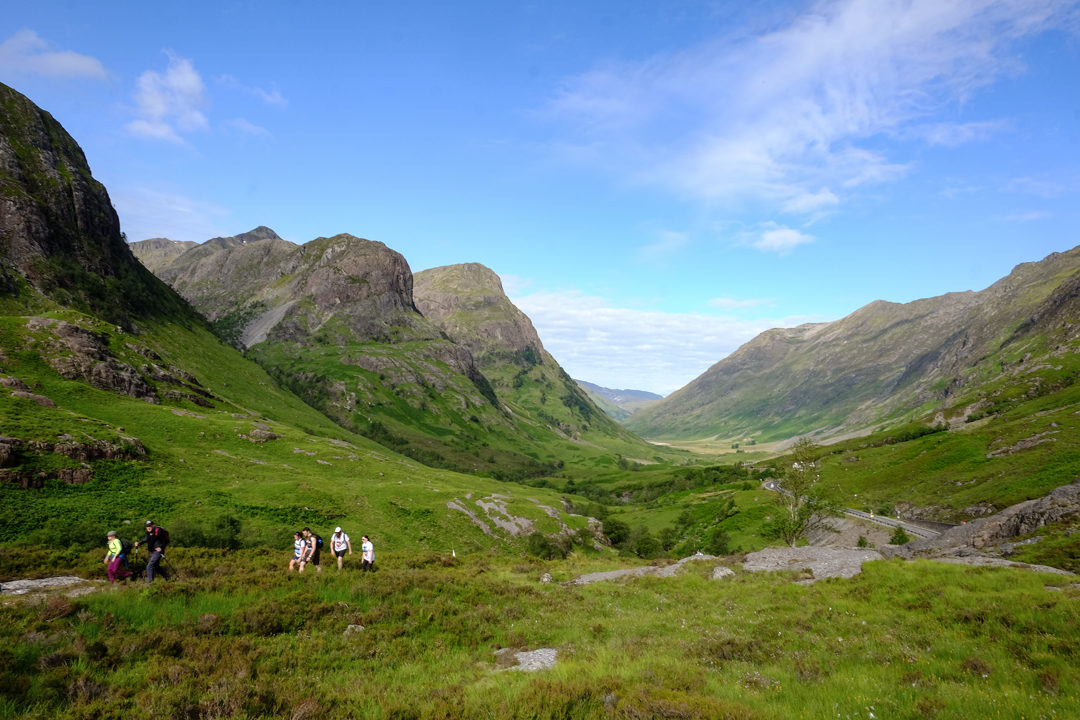 glencoe - where to visit in Scotland