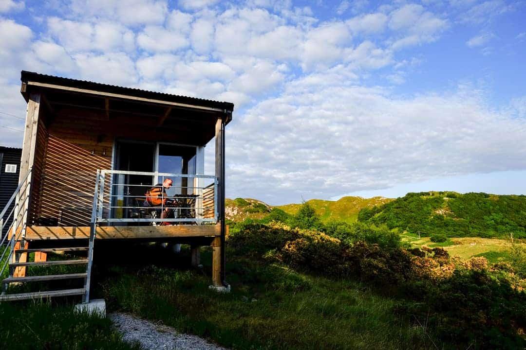 log cabins in scotland