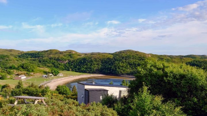 Where to stay on the North Coast 500 log cabins in scotland