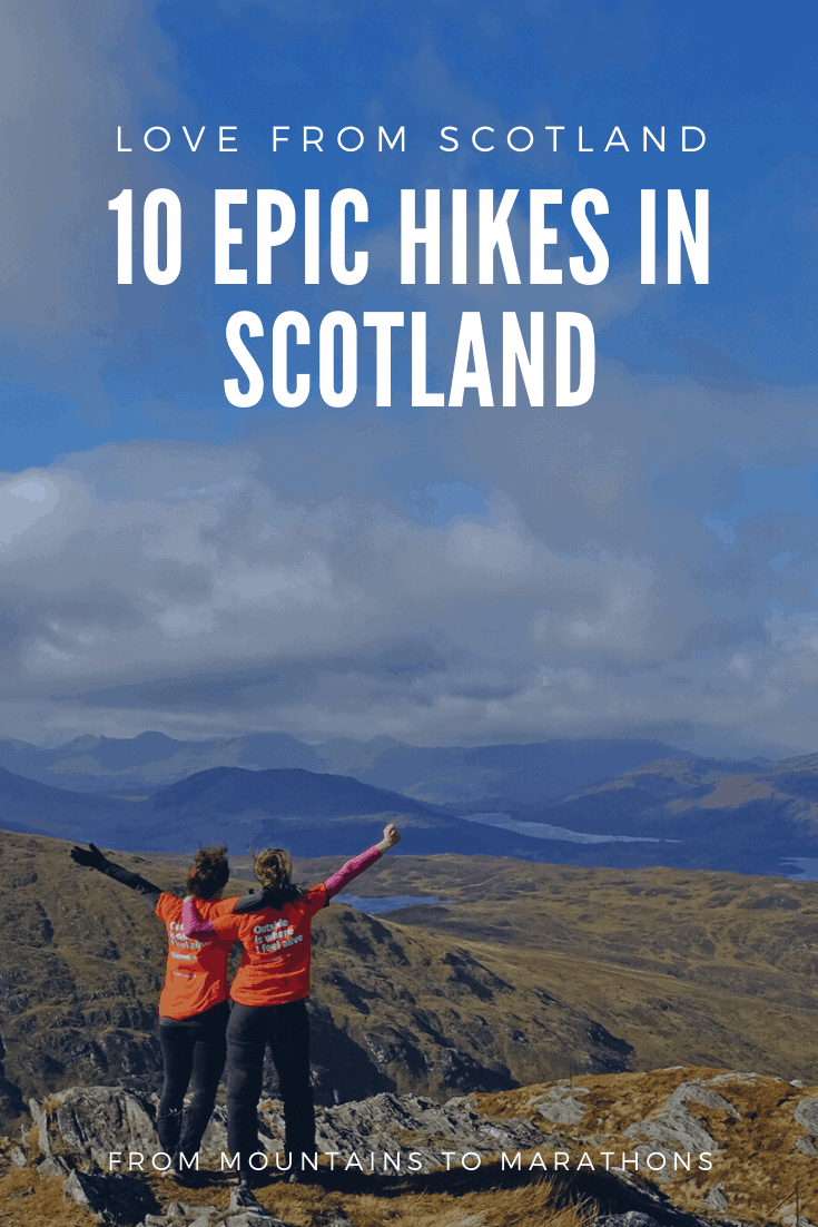 There are hundreds of amazing walks right across 10 10 epic hikes in Scotland from the Highlands to the Lowlands - from bagging Scotland's Munros (mountains over 3000 ft) to tackling long-distance marathons. Here are my favourite day walks in Scotland.