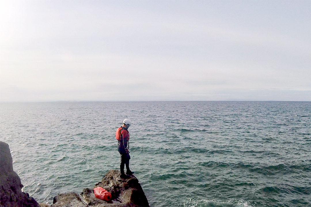 coasteering Fife Scotland