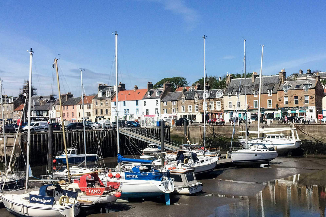 Anstruther-Fife-harbour