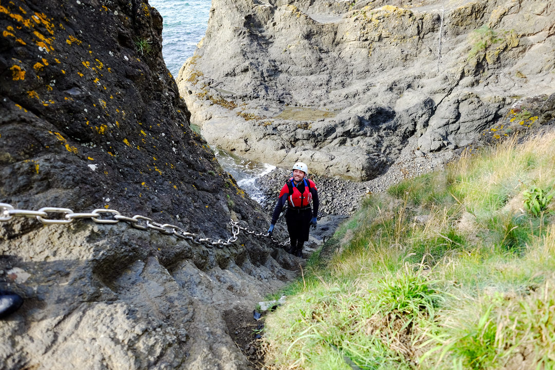 Elie Chain Walk – tackle Scotland's via ferrata