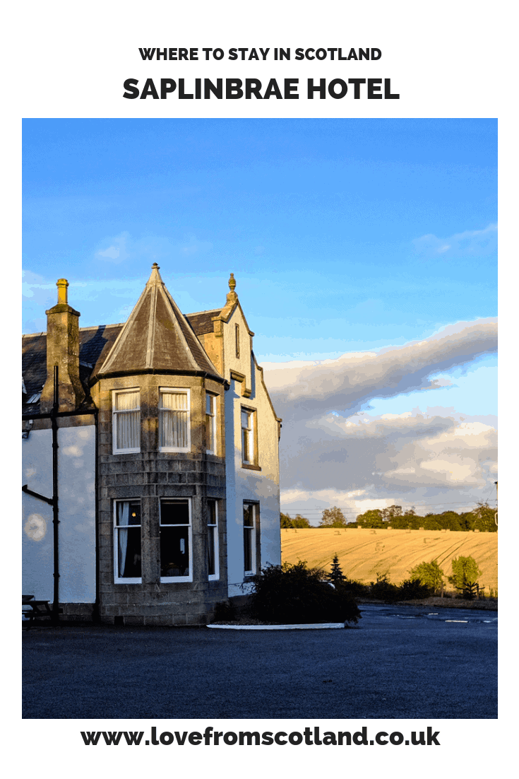 Saplinbrae Hotel Aberdeenshire - a friendly country house hotel perfect for exploring the Moray Firth and North East 250.