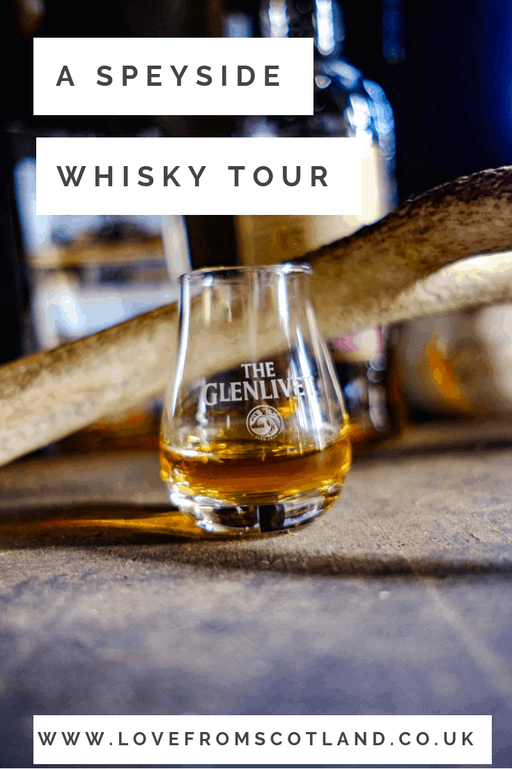A Speyside whisky tour - behind the scenes of 'the single malt that started it all' with the fantastic Glenlivet Hill Trek.