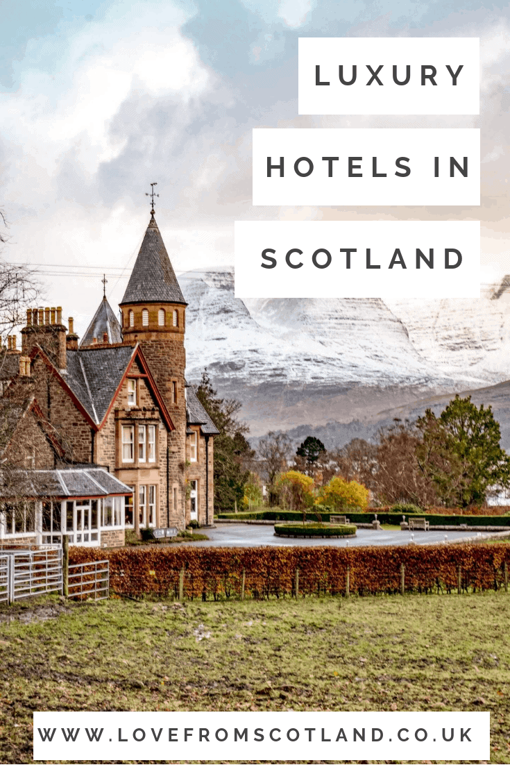 From chic boutiques and country houses to the best five-star hotels, here are Love From Scotland's favourite luxury hotels in Scotland. They have all been tried and tested by us, so you are guaranteed a truly fabulous place to stay in Scotland.