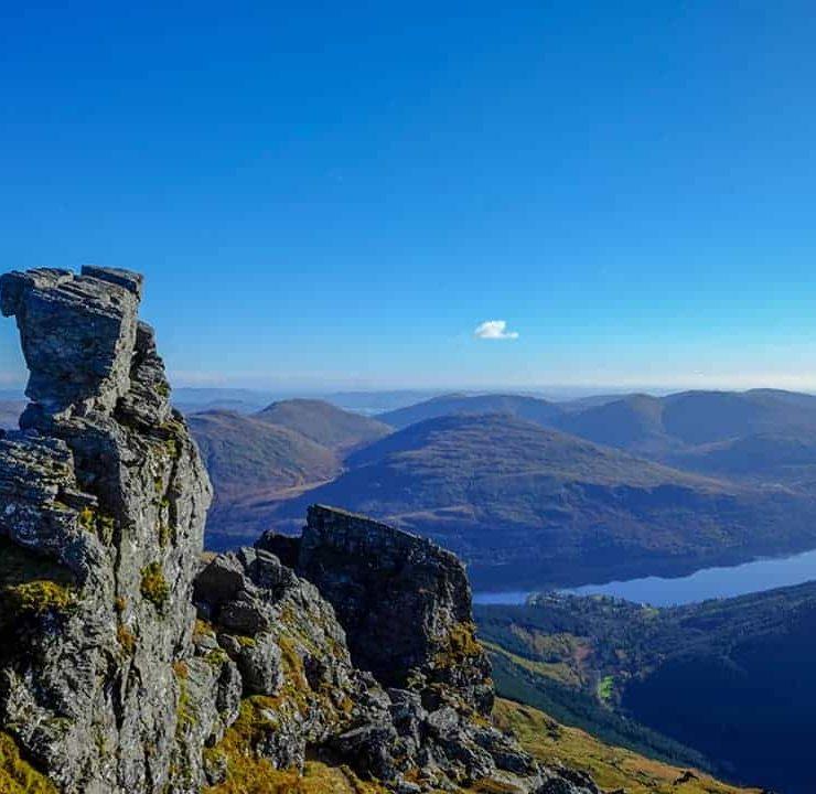 Scotland mountains - the Cobbler