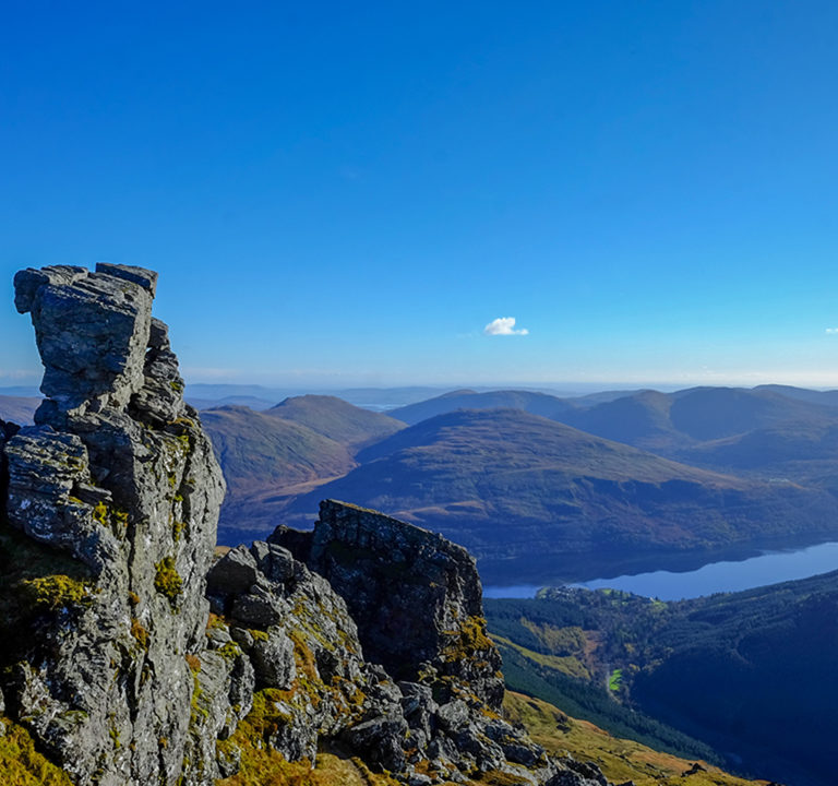Scotland mountains - the Cobbler