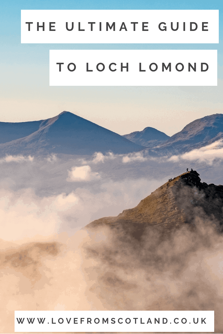The ultimate guide to getting outside and exploring Loch Lomond and the Trossachs National Park.