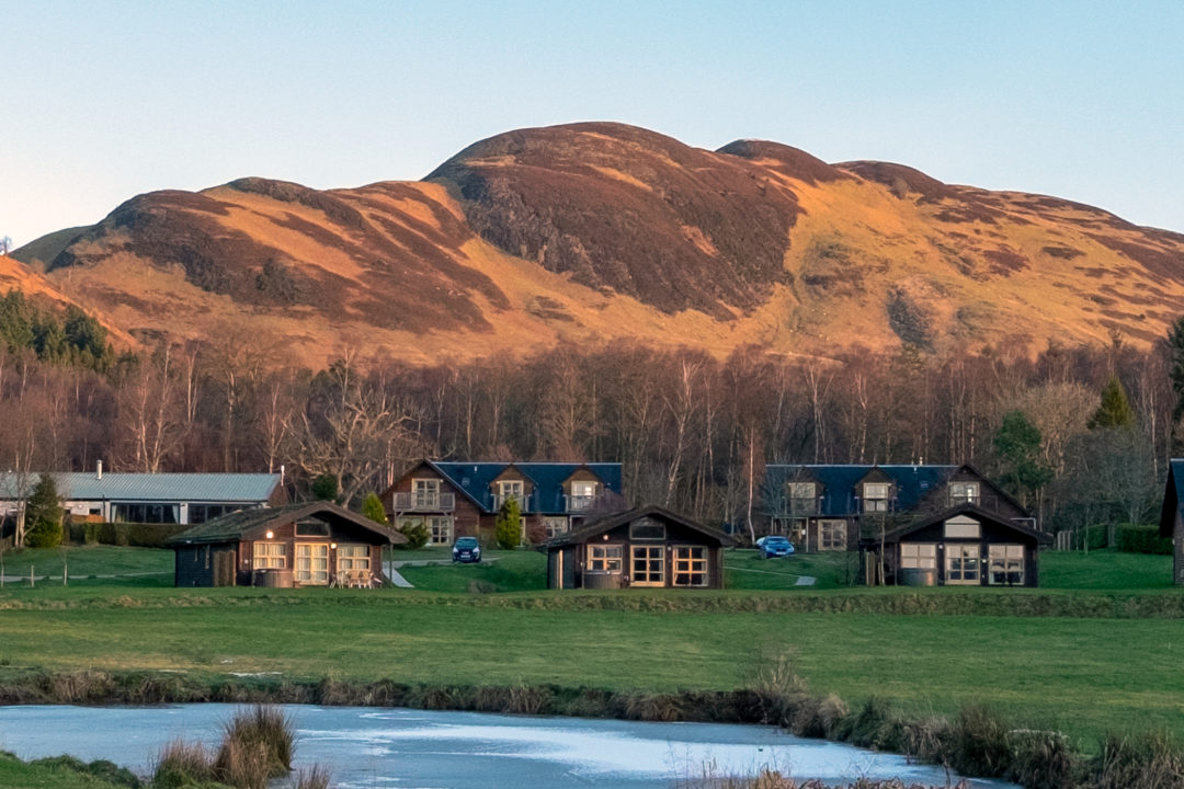 Loch Lomond lodge