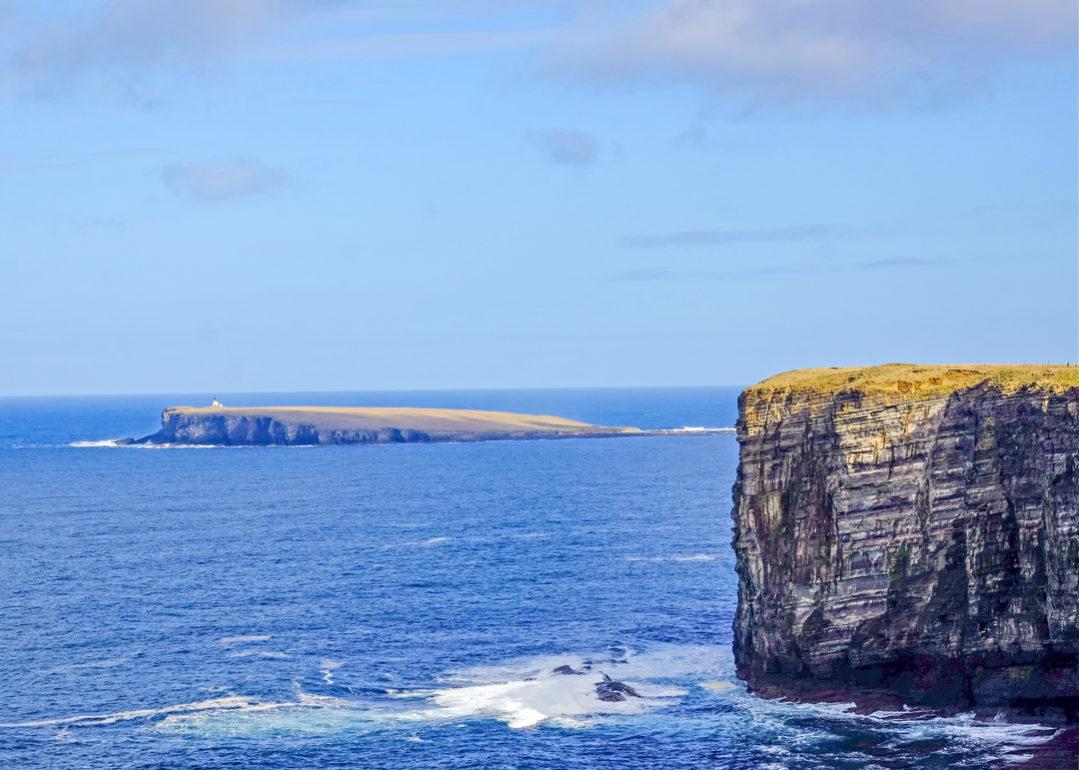 cliffs Orkney