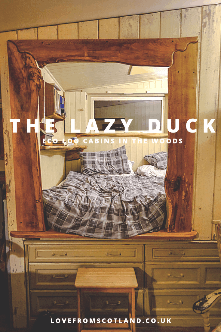 Fancy homesteading in Scotland? Move into the Lambing Bothy at the Lazy Duck in the Cairngorms - your own tiny off-grid hut in the woods.