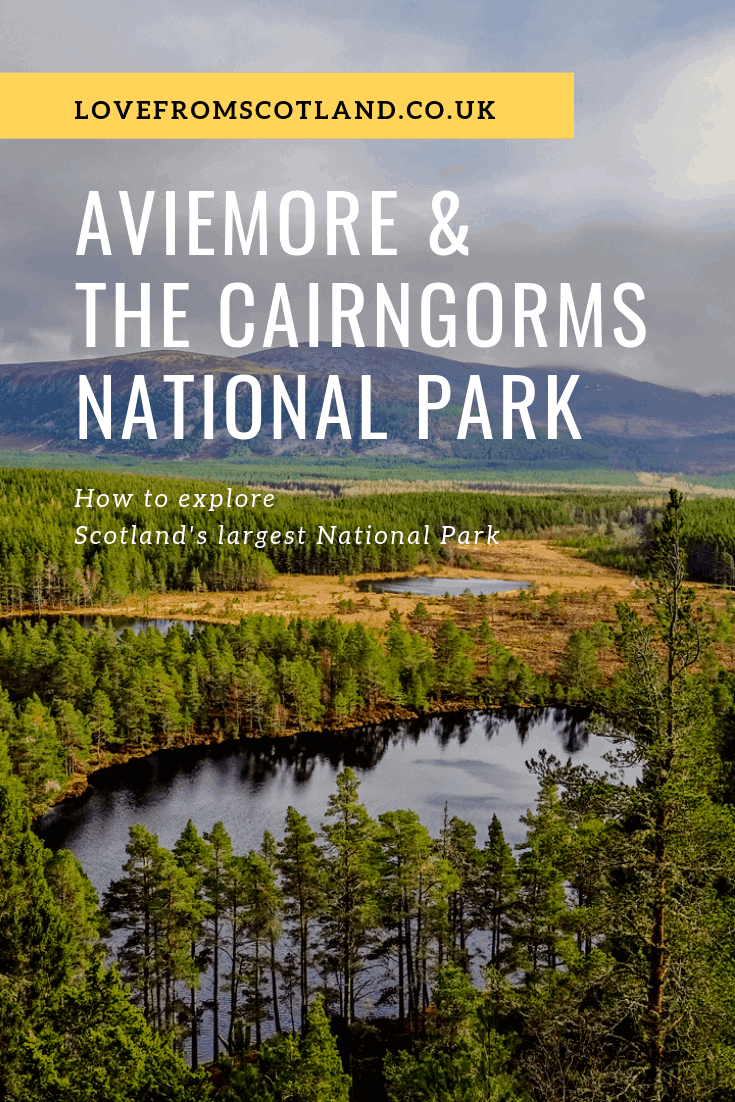 Looking for things to do in Aviemore and the Cairngorms? Here\'s how to get outside and explore the lochs, glens, and Munros of the Cairngorms National Park.